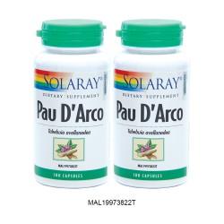 SOLARAY PAU D'ARCO 100C TWINPACK